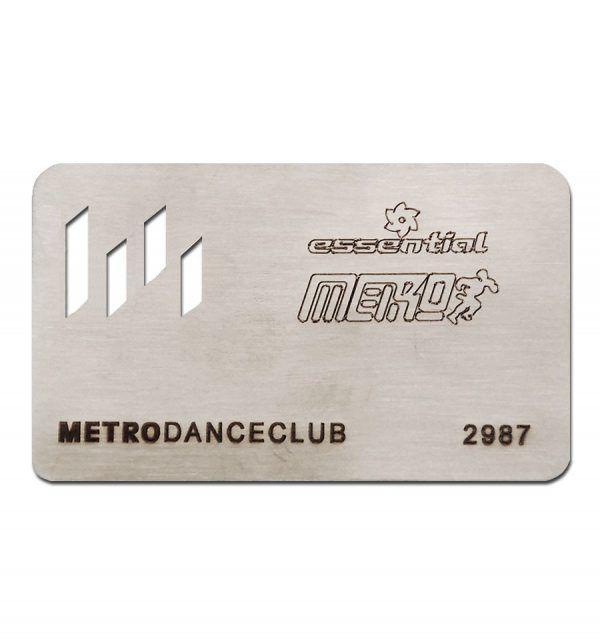 Vip Exclusivo Coleccionistas - Tarjeta -Metal Essential
