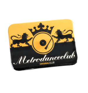 CHAPAS RECTANGULARES YELLOW & BLACK