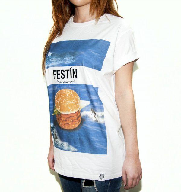 Camiseta - Festin -SURF BURGER
