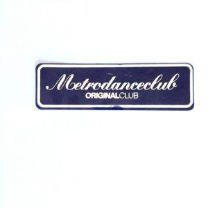 Pegatina - Metrodanceclub varios colores