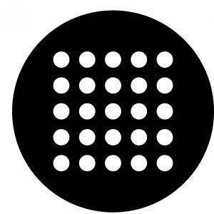 Pegatina - Logo 25 aniversario MDC 5.5 cm