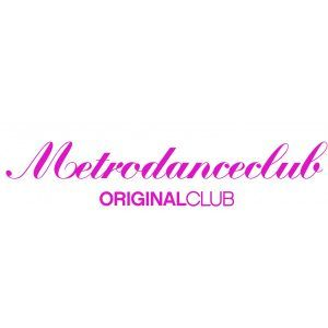 Pegatina - Metrodanceclub Original club - 17 x 4 cm