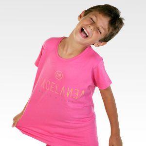 Mixcelanea camiseta nino rosa
